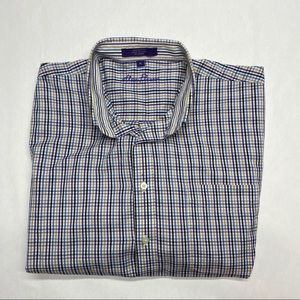 ALAN FLUSSER XL CASUAL DRESS SHIRT